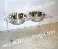 "9"" Dishy Dog diner - (double bowl)"