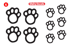 Dishy Decal #6