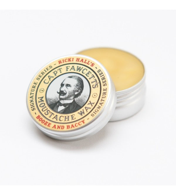 Captain Fawcett  - Ricki Hall Booze & Baccy Moustache Wax - MITCHUMM Industries  - 2