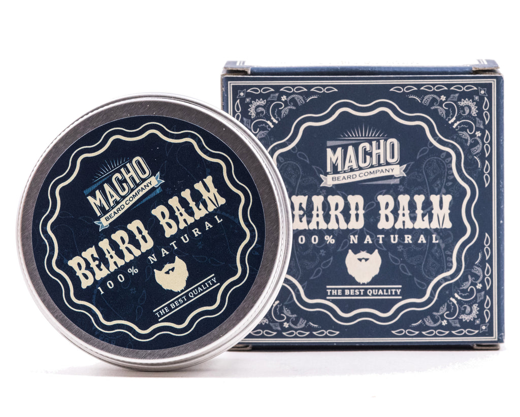 Natural Beard Balm by MACHO Beard Co. - MITCHUMM Industries