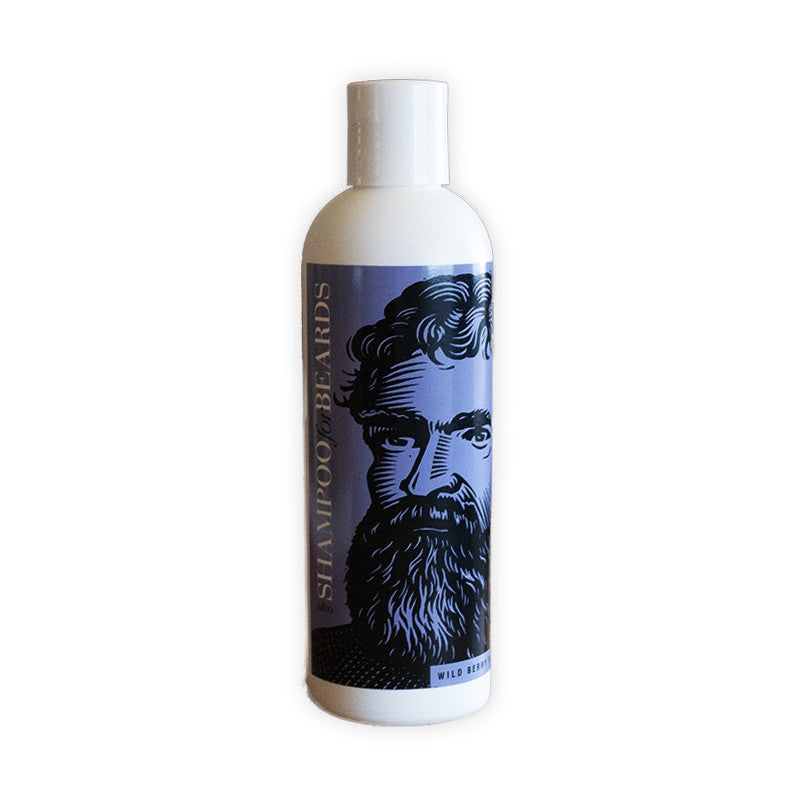 Beardsley - Ultra Shampoo for Beards - Wild Berry Flavor - MITCHUMM Industries