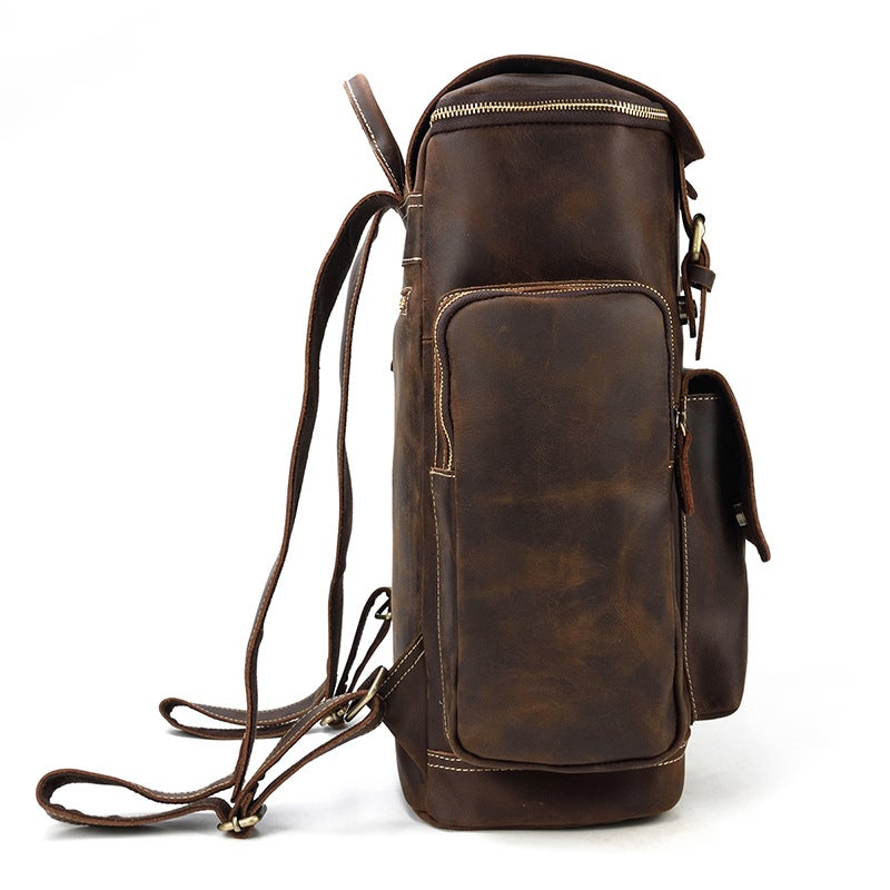 Vintage Big Multipockets Backpack