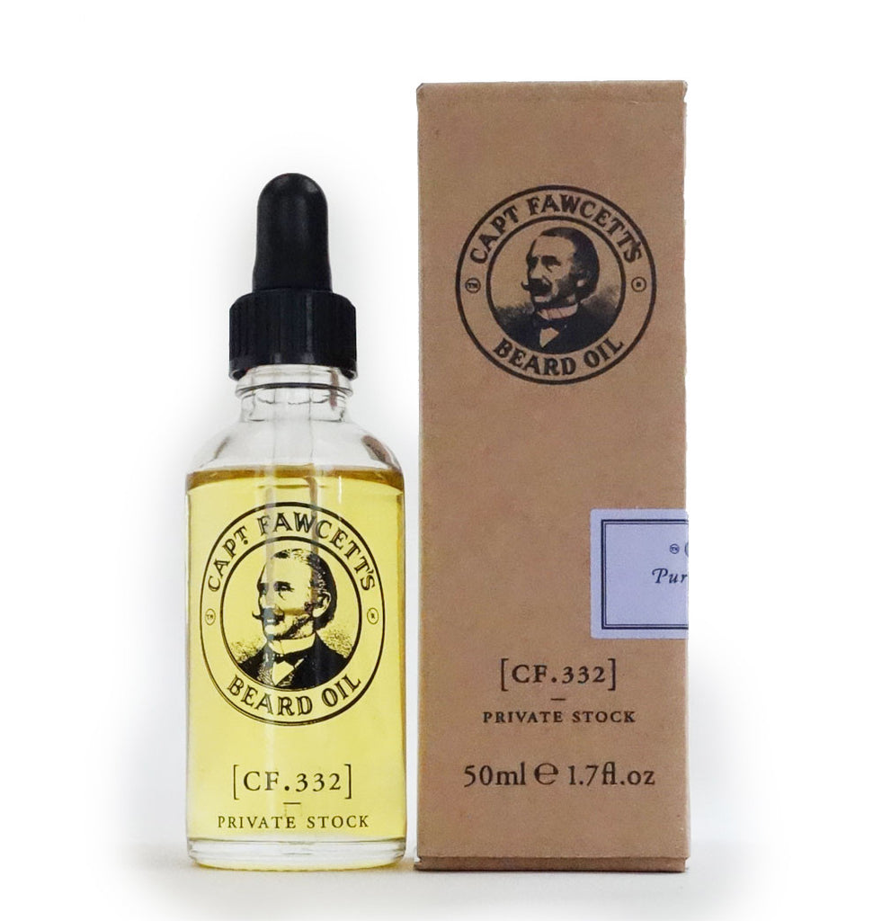 Captain Fawcett - Private Stock Beard oil - 50ml - MITCHUMM Industries  - 1