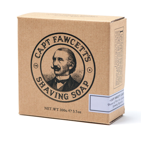 Captain Fawcett - Luxurious Shaving Soap + wooden bowl - MITCHUMM Industries  - 2