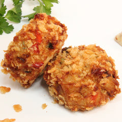 Gourmet Crab Cake 1oz (hockey puck style)