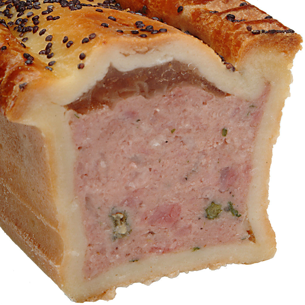Green Peppercorn Pate En Croute