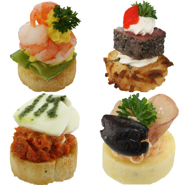convenience canapes grand deluxe combo box � gourmet