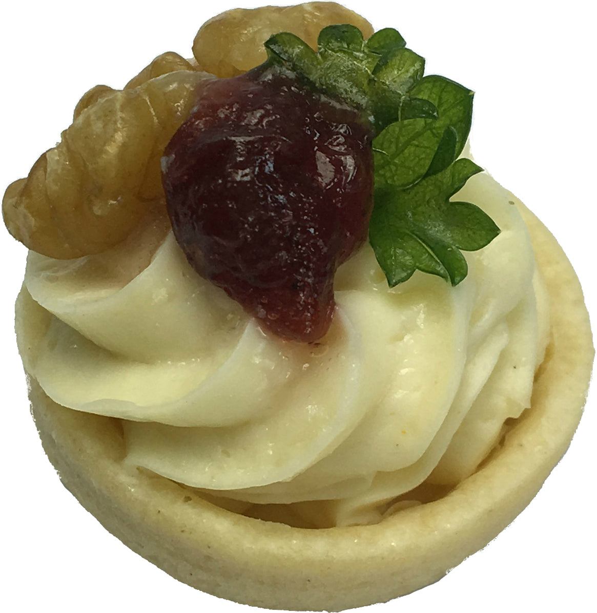 Brie Cheese Mousse Tartlet