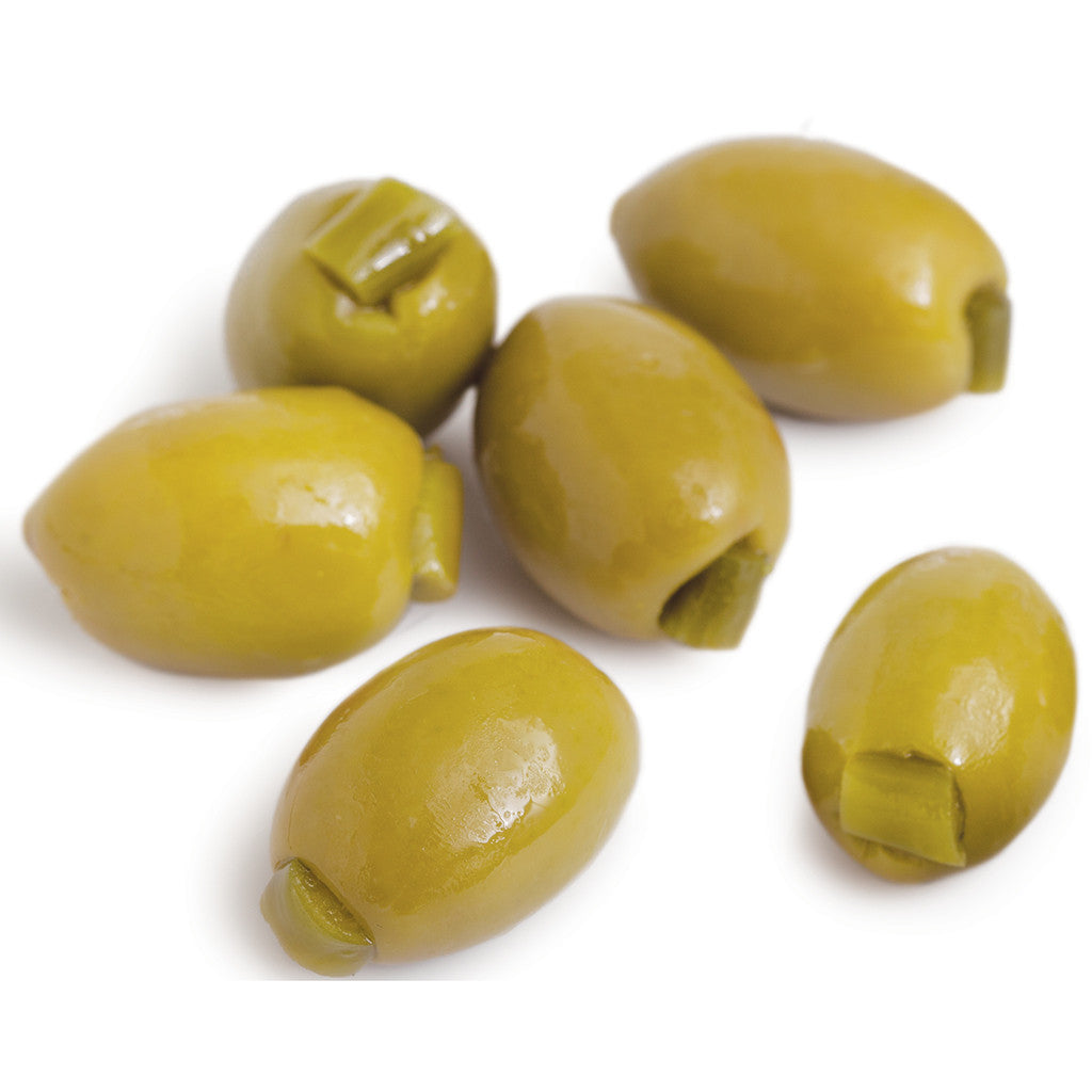Mt. Athos Olives Stuffed With Jalapeno