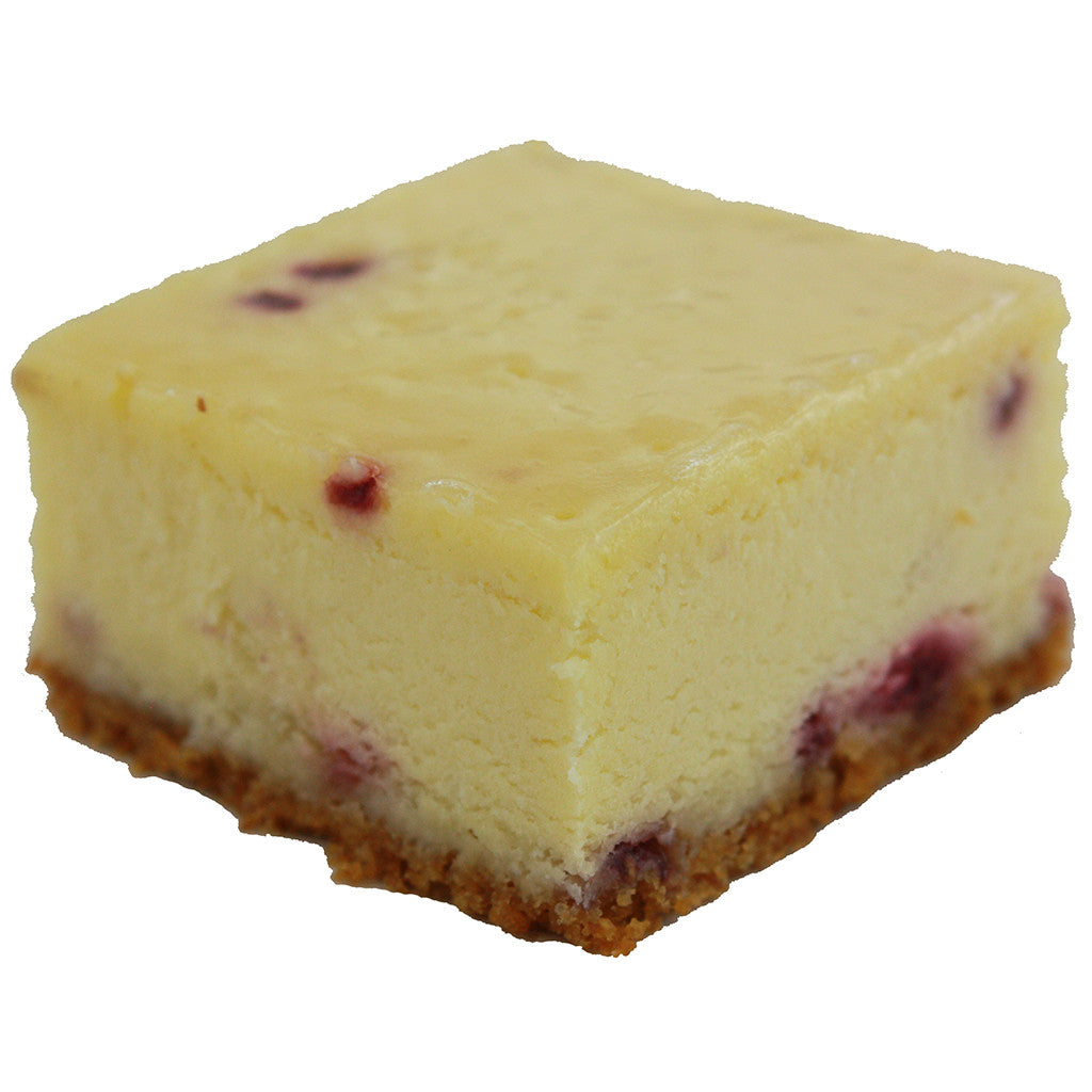 White Chocolate Raspberry Cheesecake Individual Dessert