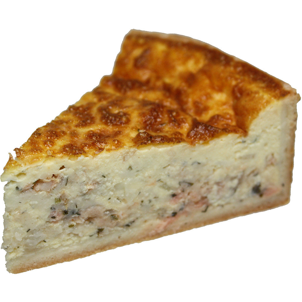 Smoked Salmon Dill Quiche