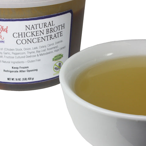 Natural Chicken Broth Concentrate 1x8lb