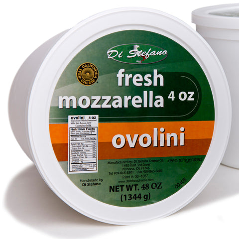 DiStefano Fresh Ovoline Mozzarella 4oz