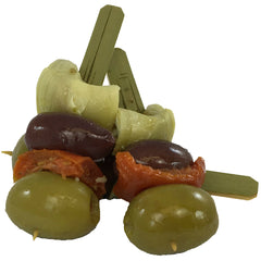 Artichoke and Kalamata Brochette .8oz
