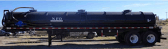 160 Barrel Vacuum Tank Trailer