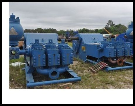 (2) National 10-P-130 Mud Pumps