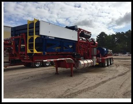 2500 HP FRAC PUMP TRAILER