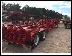 16 Port manifold trailer