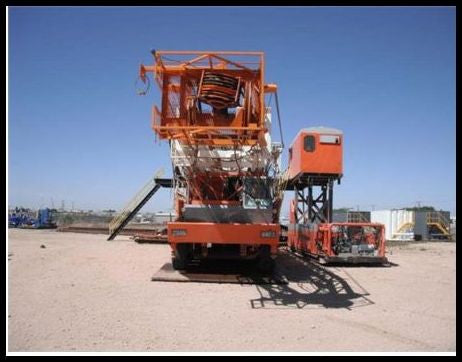 2006 TAYLOR C1000 CARRIER 1000HP DRILLING RIG