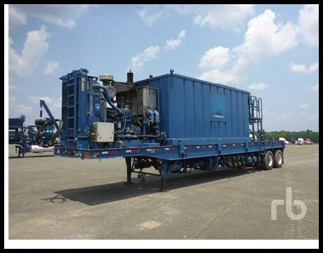 2007 KALYN MHU60 T/A Hydration Fracturing Trailer Fracturing Unit