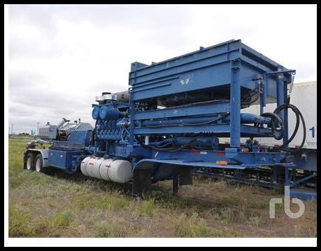 2007 STEWART & STEVENSON T/A Frac Pump Trailer Drilling Equipment - Other