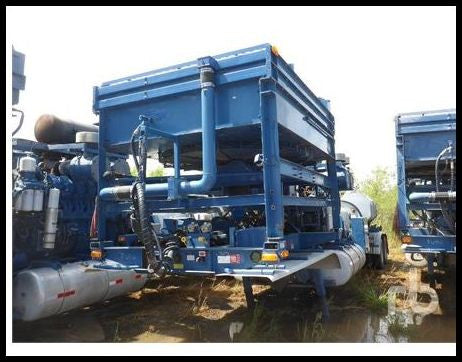 2004 FONTAINE T/A Frac Pump Trailer Drilling Equipment - Other