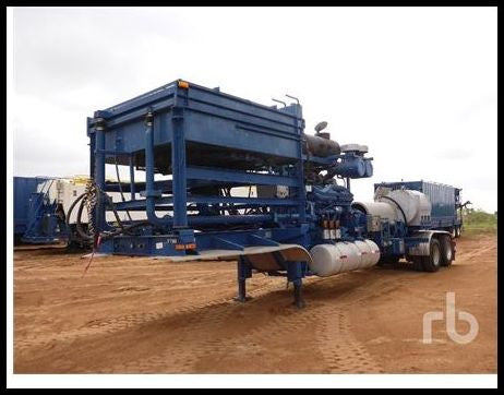 2006 KALYN/SIEBERT RHINO-TC Frac Pump Trailer Drilling Equipment - Other