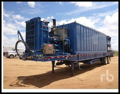 2011 PRATT SF432B46C2SSSJ 100 Barrel T/A Hydration Unit Drilling Equipment - Other