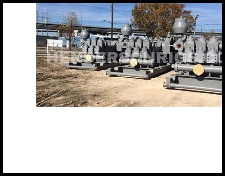 (3) Continental Emsco FB-1600 Triplex Mud Pumps