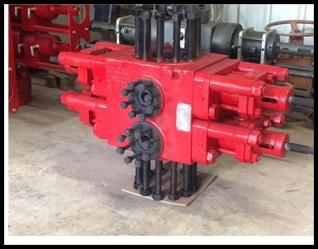 7 1/6 5000psi Shaffer Double