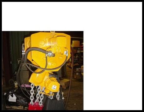 15 Tons Capacity Air Hoist Telphers BOP Lifting Ceiling Cranes