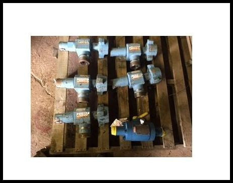 2 inch fig. 2002 FMC relief valves