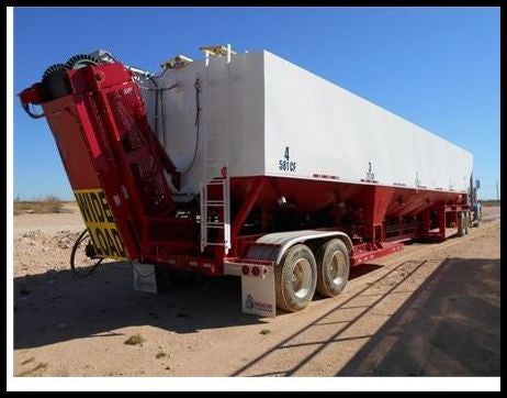 2015 Dragon Frac Sand Hopper 4000CUFT