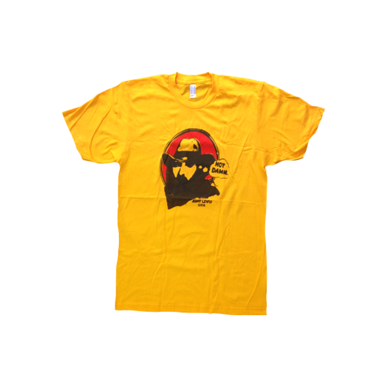 Hot Damn Unisex Tee (Gold) - Jenny Lewis Store