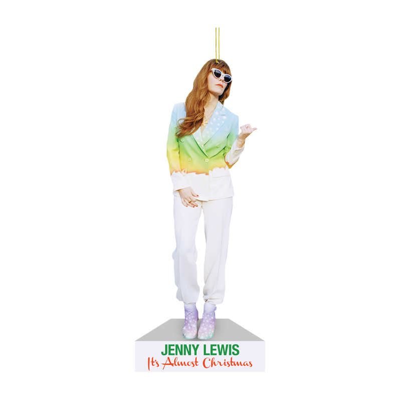 It's Almost Christmas Cardboard Ornament - Jenny Lewis Store