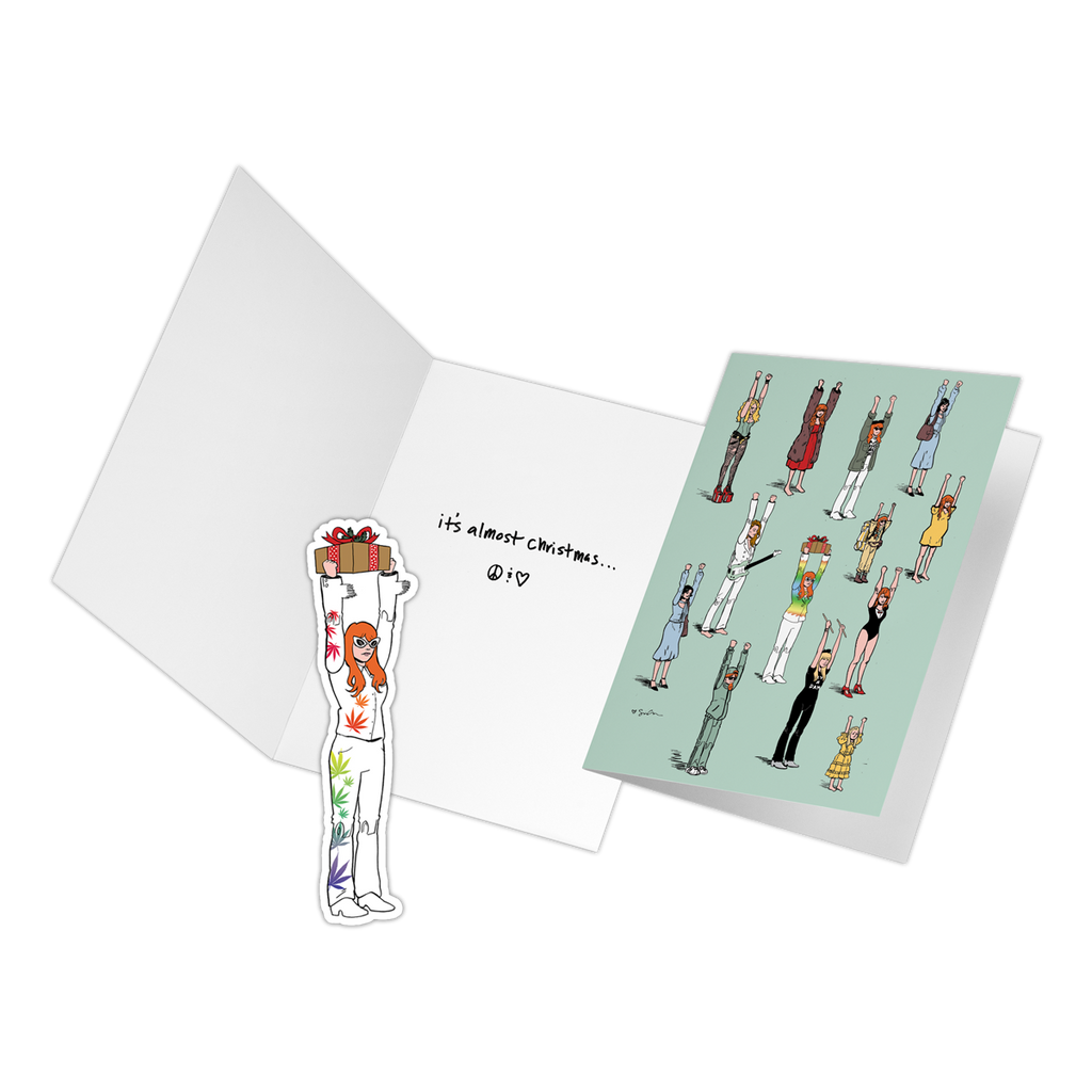 Holiday Card 4 Pack - Jenny Lewis Store