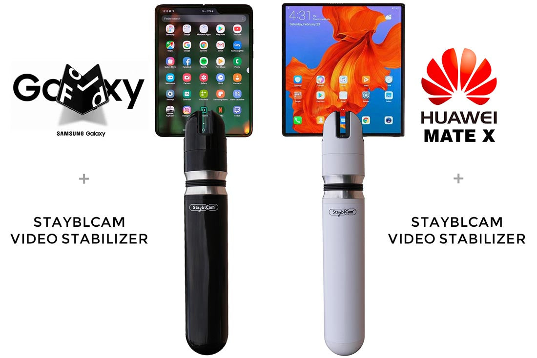 best video stabilizer gimbal for foldable phones folding galaxy fold huawei mate x