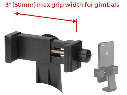 folding smartphone gimbal video stabilizer stayblcam