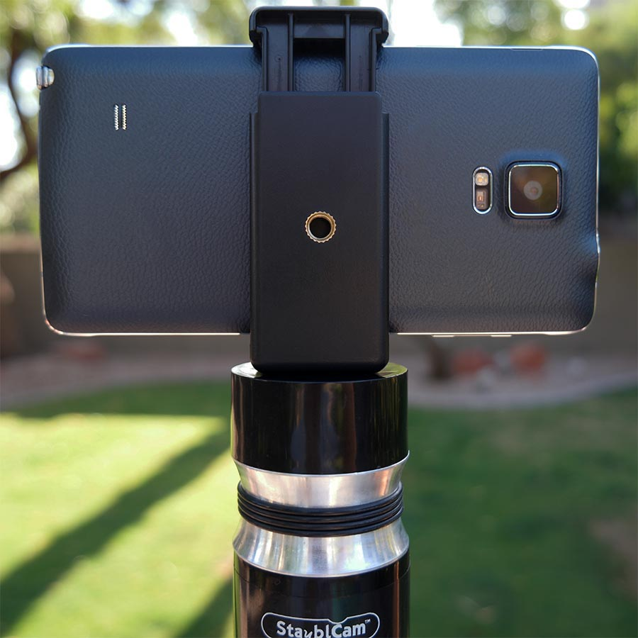 universal smartphone clip adapter for gimbals