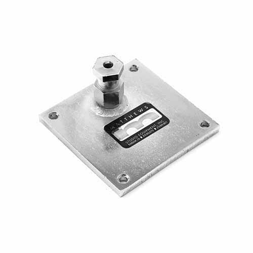 "Mounting Plate 4"" x 4""  Snap In"