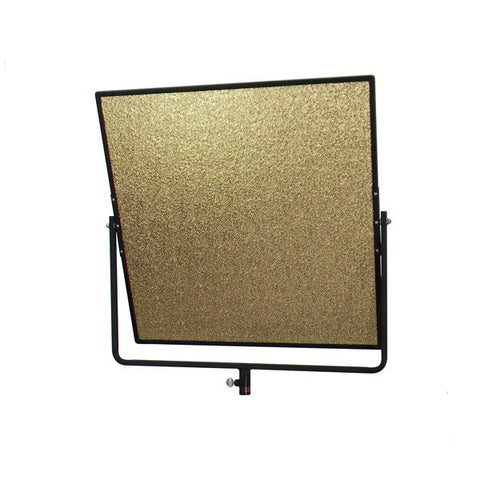 "Aluminum Hand Reflector 24"" x 24"" with Black Yoke"