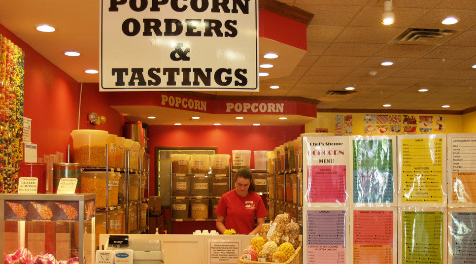 Popcorn Shop at Chef's Shoppe