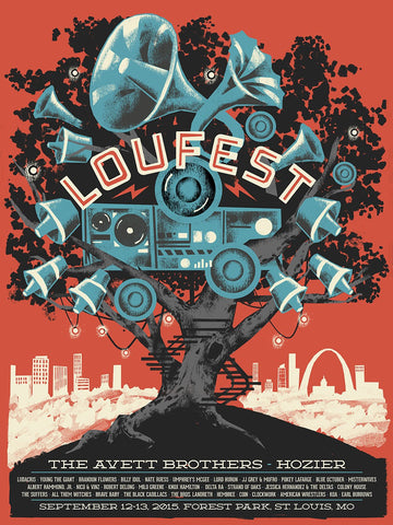 LouFest 2015 Commemorative Poster