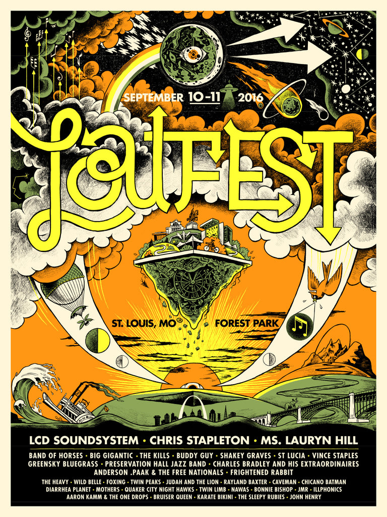 LouFest 2016 Commemorative Poster