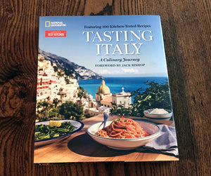 Book - Tasting Italy: A Culinary Journey