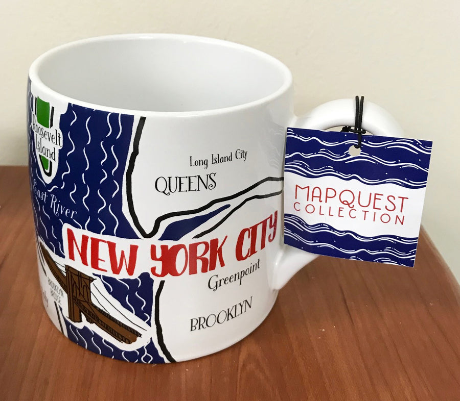 Mapquest Collection Mug: New York City