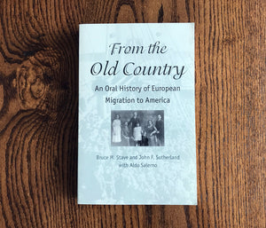 Book - From the Old Country
