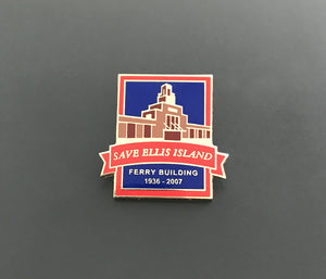 Save Ellis Island Commemorative Pin