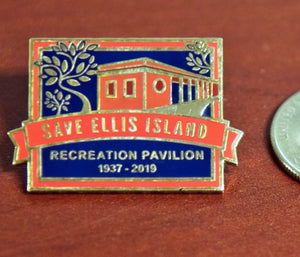 Save Ellis Island Commemorative Pin #2