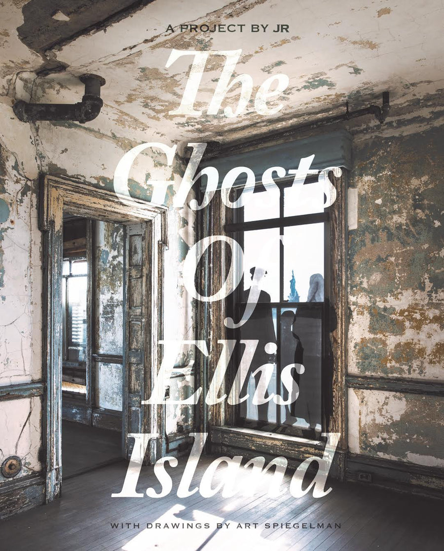 Book - The Ghosts of Ellis Island with illustrations by Art Spiegelman